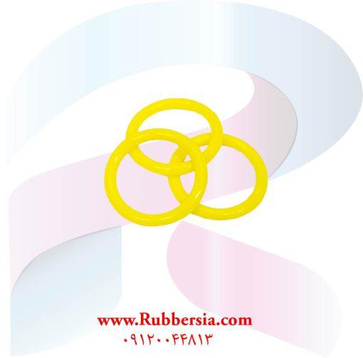 فروش آنلاین اورینگ درب روغن خودرو سیلیکون زرد