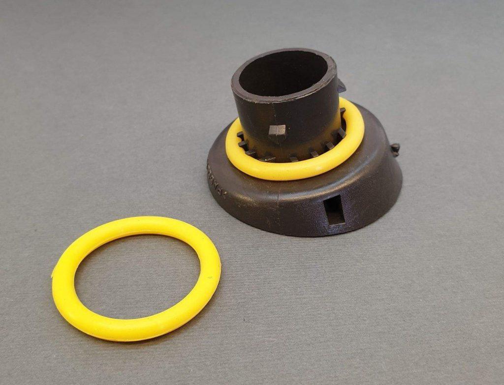 اورینگ سیلیکونی زرد